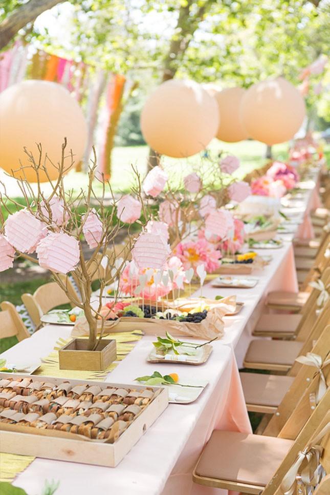 16 BRIGHT SPRING BRIDAL SHOWER IDEAS ON BRIT CO Twink