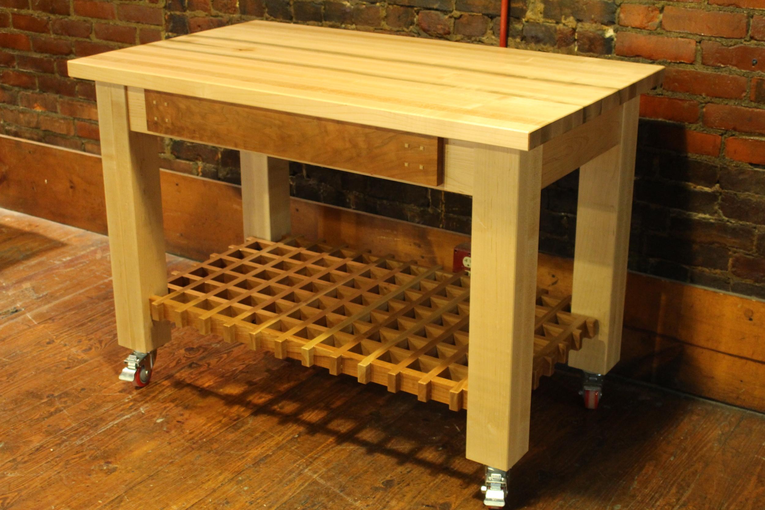 kitchen work station high top table set modish cookery workstation heirloom home img 8639 jpg