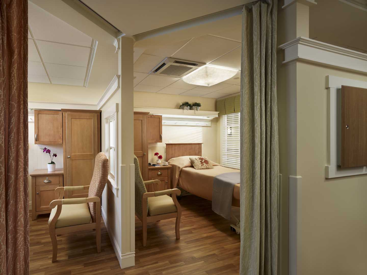 Nursing Homes  Assisted Living Facilities  Cubicle
