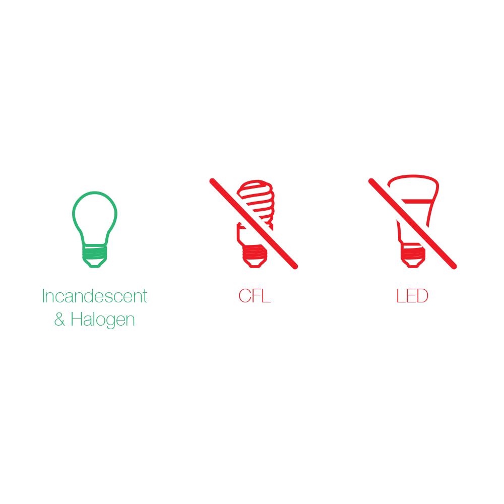 hight resolution of only connect incandescent bulbs to dimmer switch 2 wire
