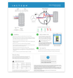 insteon fan controller quick start guide [ 1000 x 1000 Pixel ]