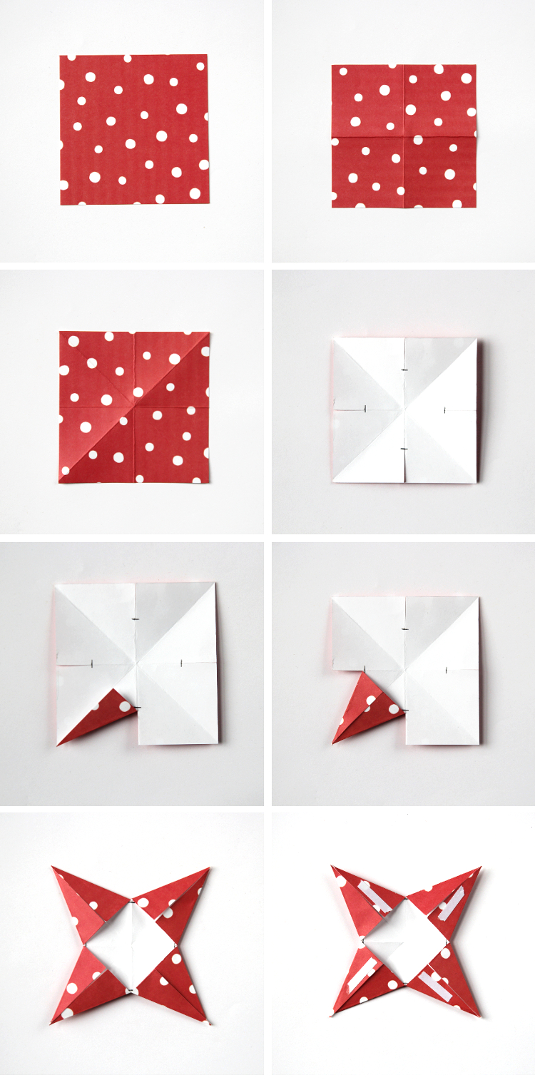 3d Paper Star Christmas Decorations Gathering Beauty