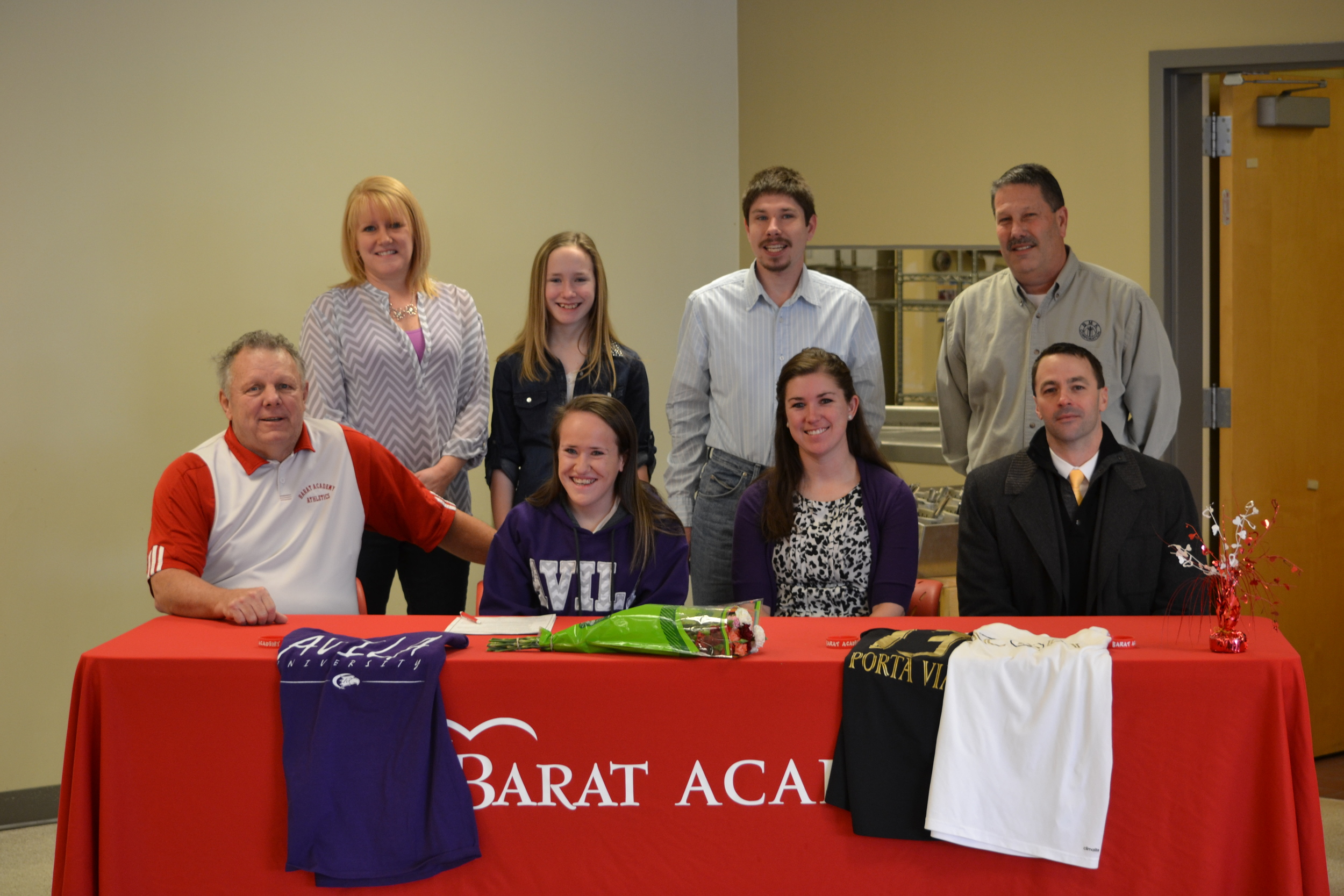Senior Scott Signs Soccer Letter Of Intent With Avila University