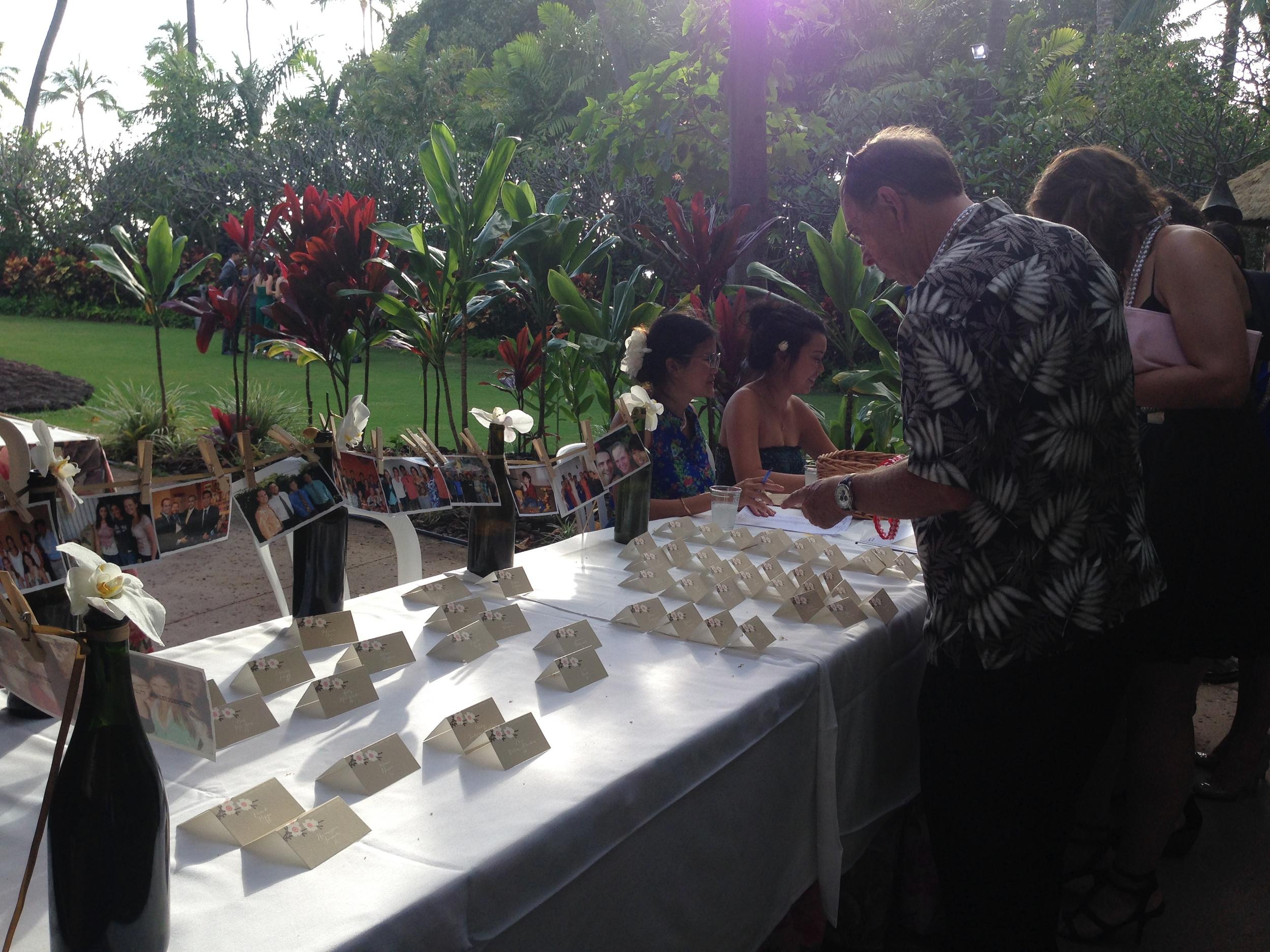 AARON  DARIEN Hale Koa Hotel Luau Garden Wedding April 4 2015  Best Day Ever