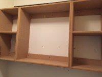 How To Build Upper Cabinets - Laundry Room Makeover ...