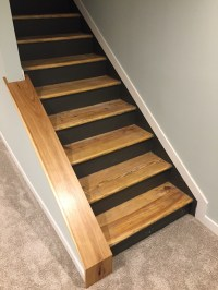 Staircase Remodel - DIY Basement Stair Transformation ...