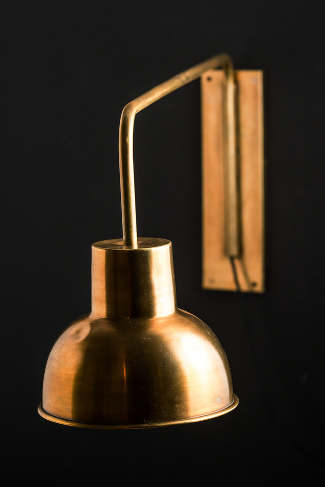 Brass Swing Arm Wall Light  Felix Lighting Specialists