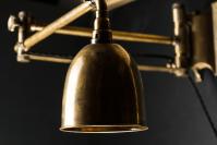 Vintage Brass Articulated Wall Light  Felix Lighting ...