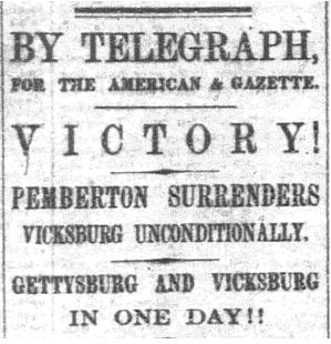 Memorable Days: The Battle of Gettysburg through the Eyes