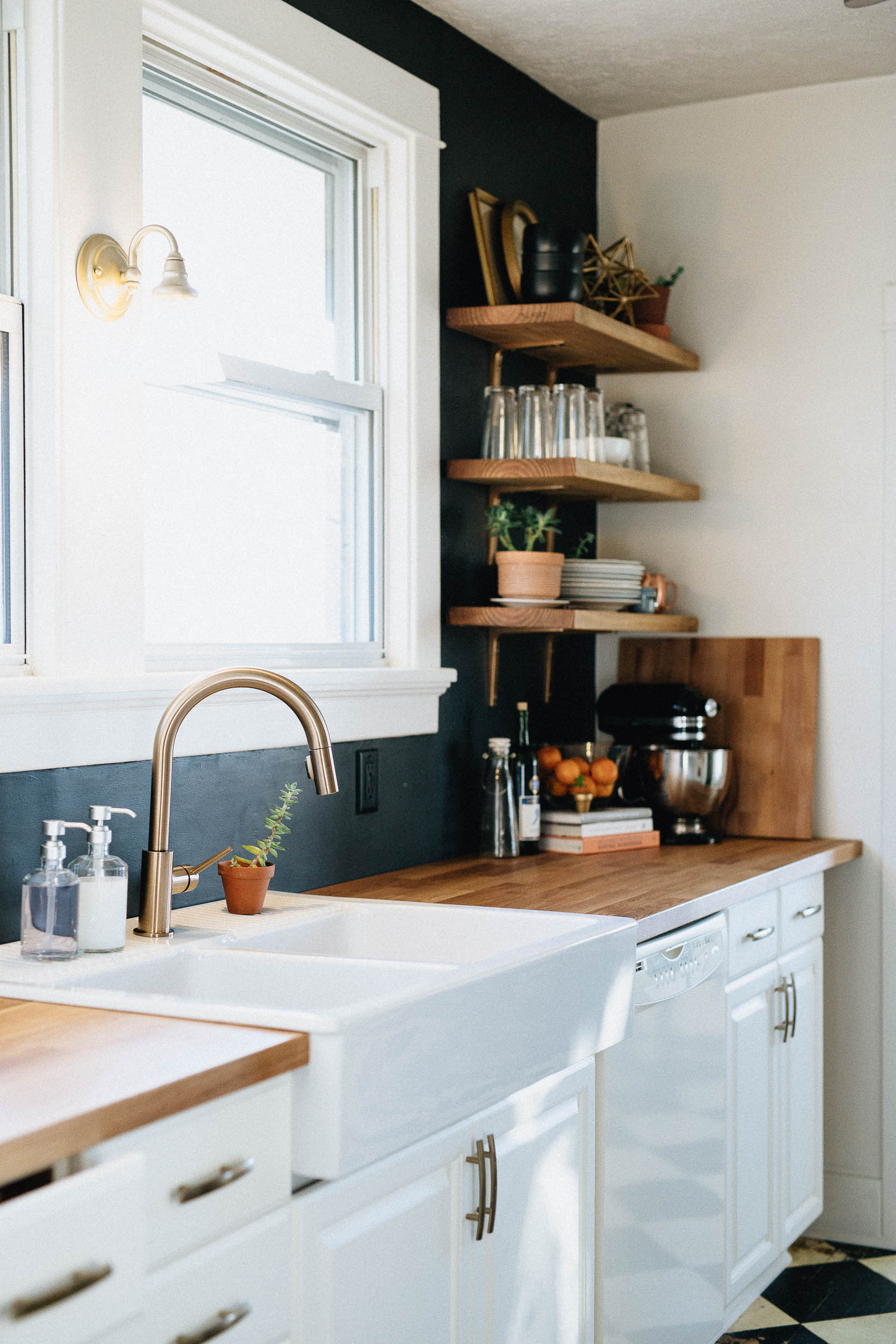 Our DIY Kitchen Remodel  Natural Honest Artistic THE