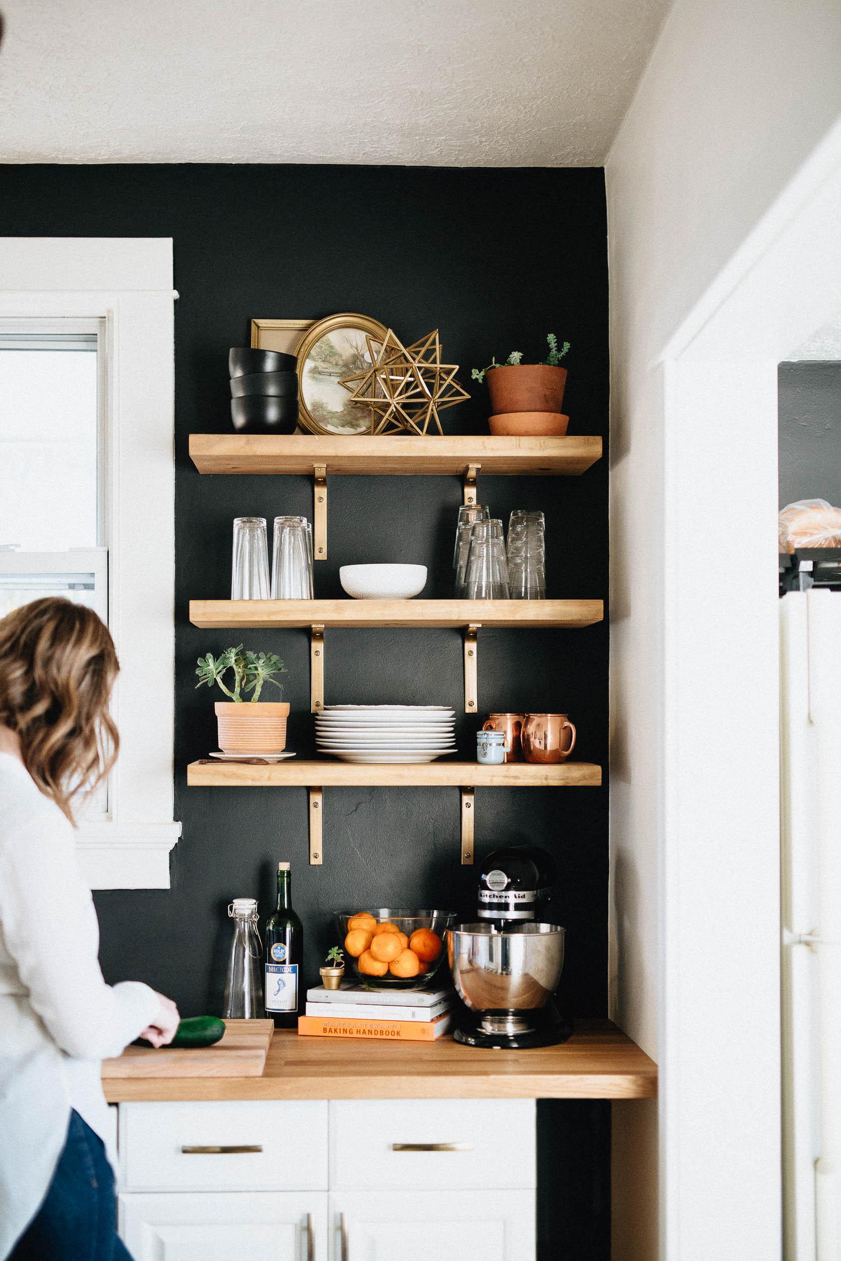 Our DIY Kitchen Remodel  Natural Honest Artistic THE BRAUNS  Columbus Dayton Cincinnati