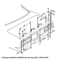 1969 Chevelle Wiring Diagram Fluorescent Light Technical Blog For Camaro Part Installation Steve S Camaros Rear Spoiler