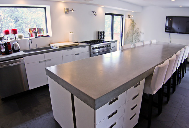 kitchen tops kyocera how to choose the right counter top for your home zion realty there s a stigma surrounding concrete that some people just can t get past may be good dams bridges sidewalks and coliseums