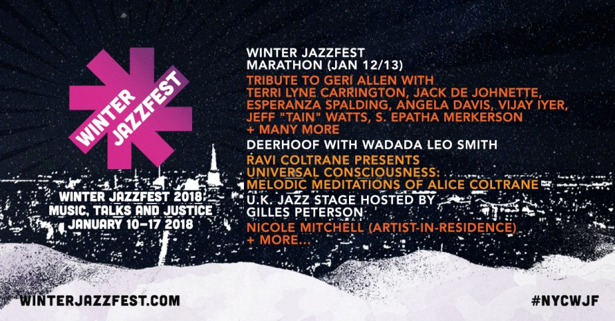 Image result for Winter Jazz Fest 2018 NYC