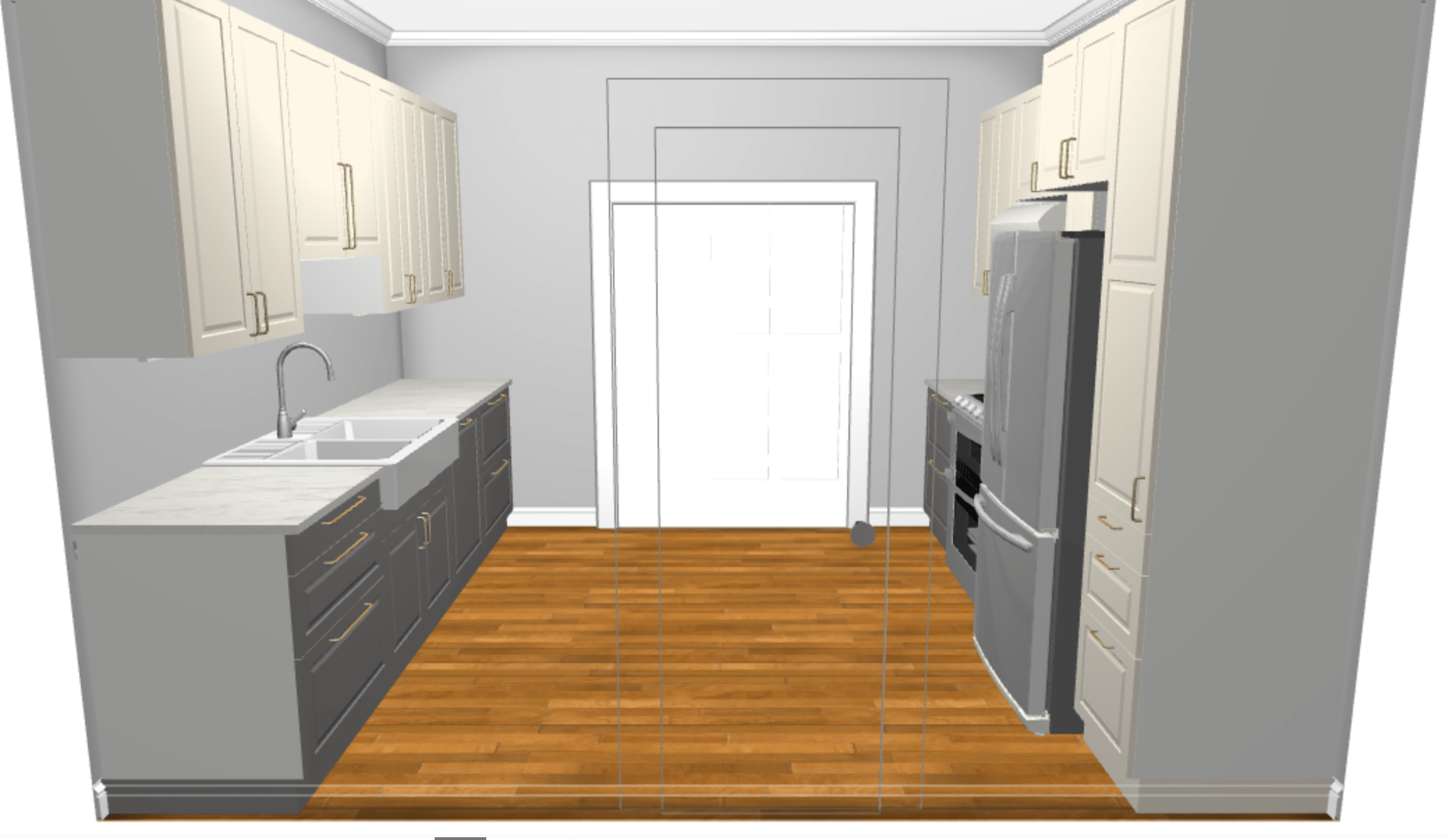 ikea kitchen remodel country style curtains small budget and design update the white apartment these are images from planner tool it s missing island because