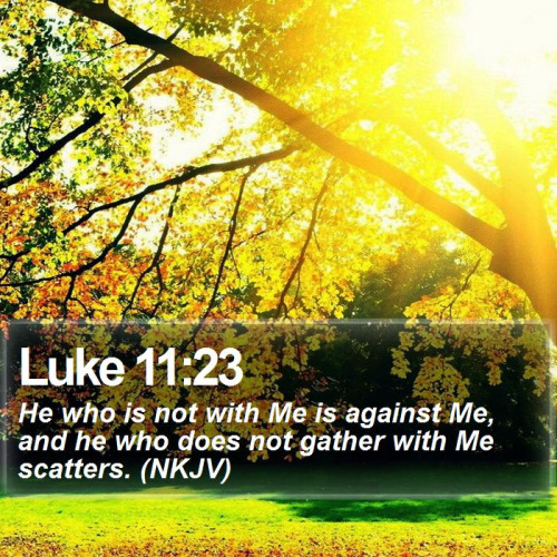 Luke 1123 For Or Against Christ Where Do You Stand