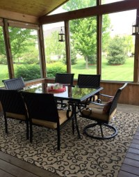Screened Porch Decorating Ideas  Home & Plate - Easy ...