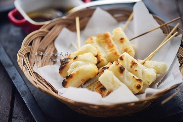 Roasted Sweet Rice Cakes Yankitchen