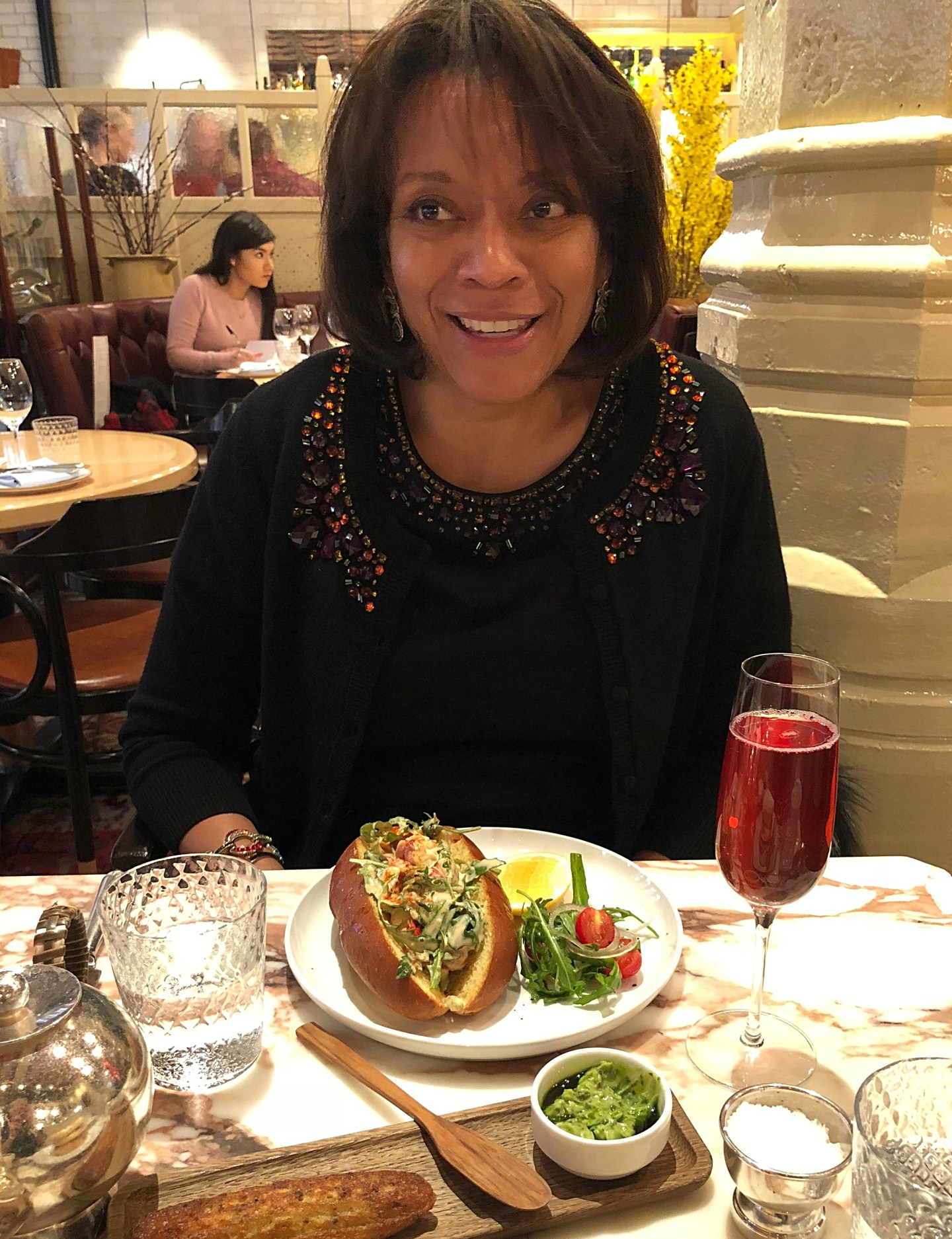 After church brunch at Chiltern Firehouse