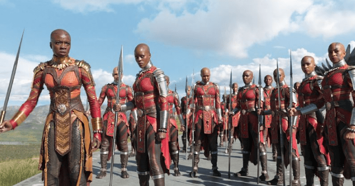 Danai Gurira, Dora Milaje and the Warrior Women of Wakanda photo Marvel Studios