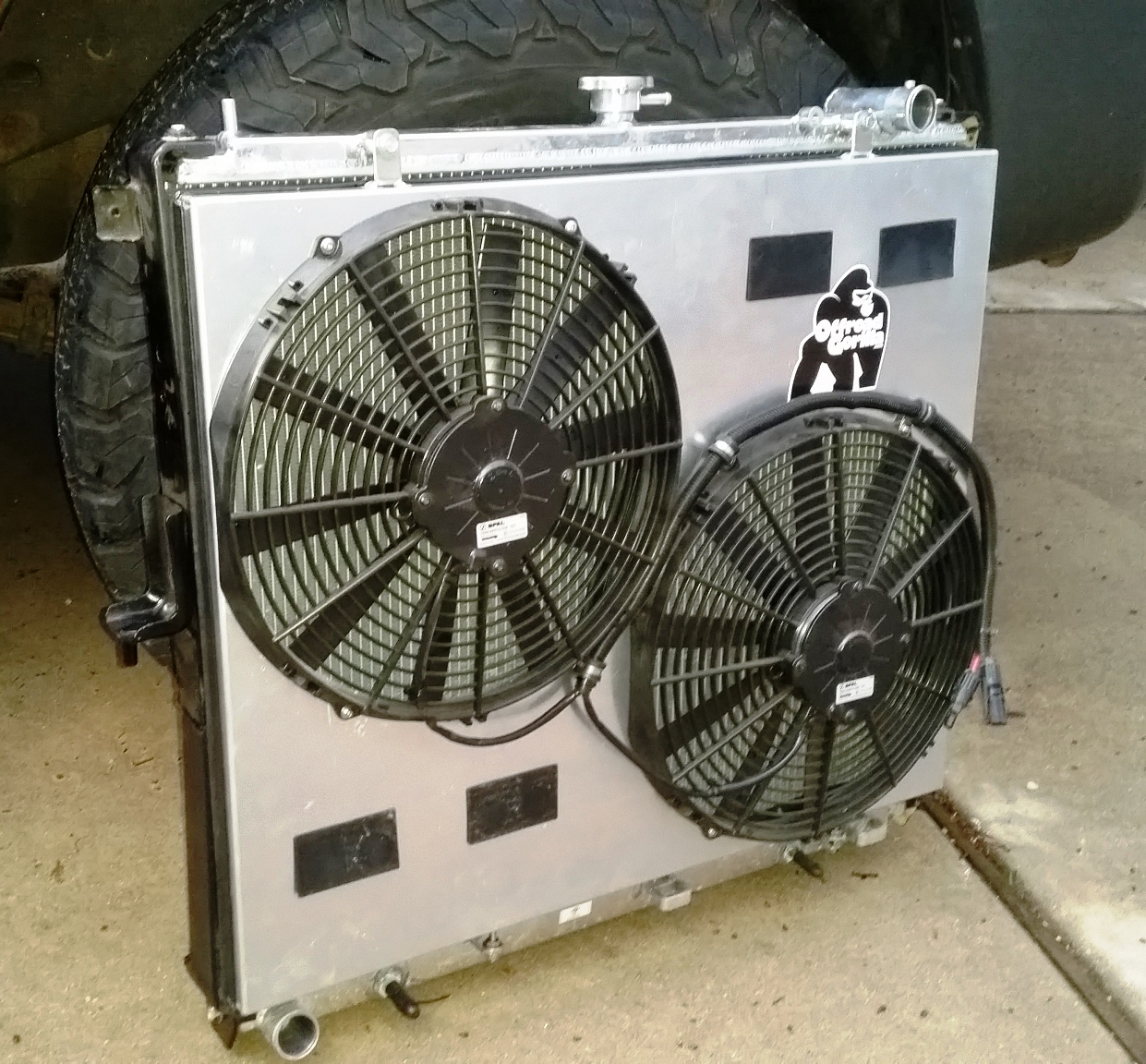 hight resolution of 20170225 174139 jpg spal electric fan shroud