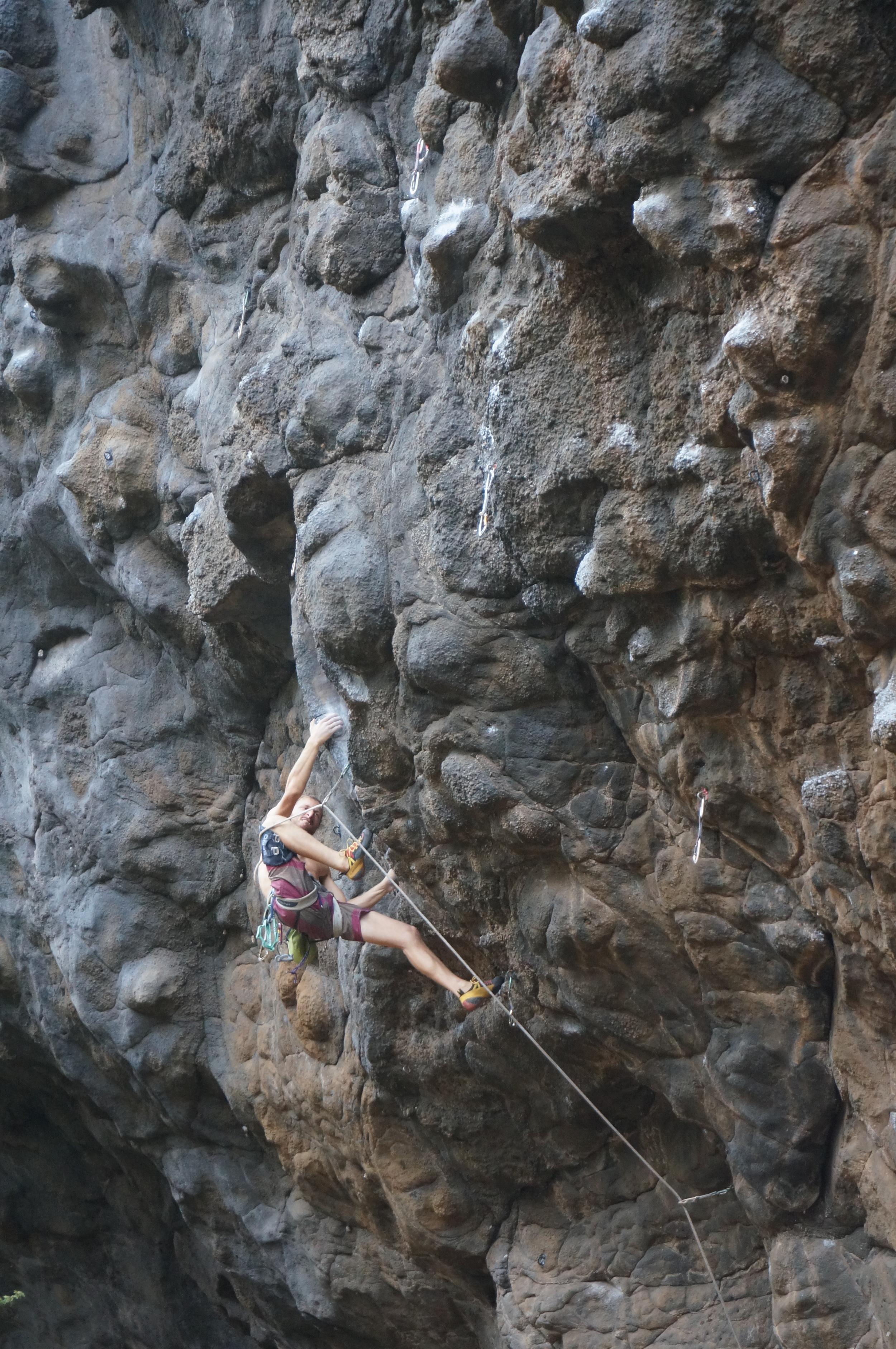 Maui Memories Bouldering Hawaii