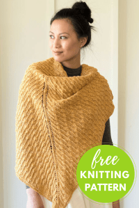 Forsythia Shawl Free Knitting Pattern  Blog.NobleKnits