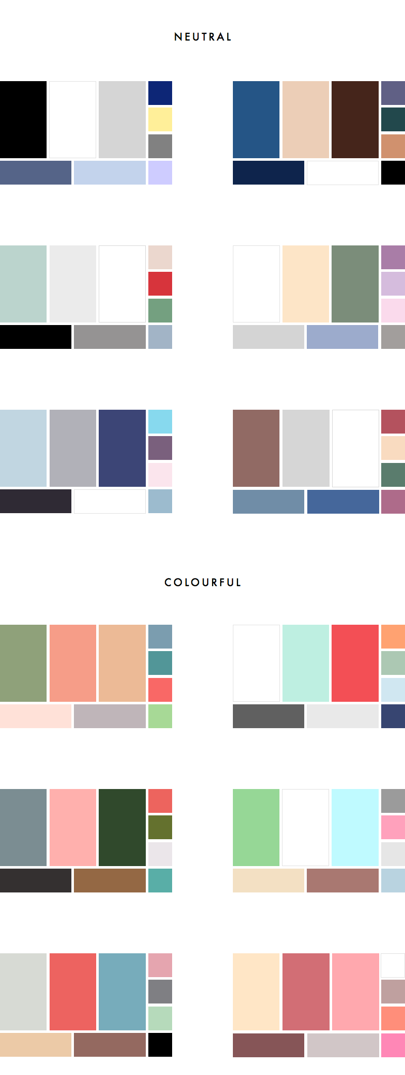 colour palettes for your wardrobe part ii colourful vs neutral also how to choose  palette sample rh anuschkarees