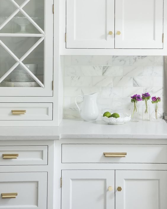 brass kitchen pulls remodeled small kitchens cabinet knobs roundup synonymous sorry source is unknown