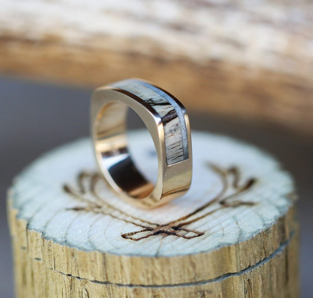 Staghead Designs  Design Custom Wedding Bands  Wood