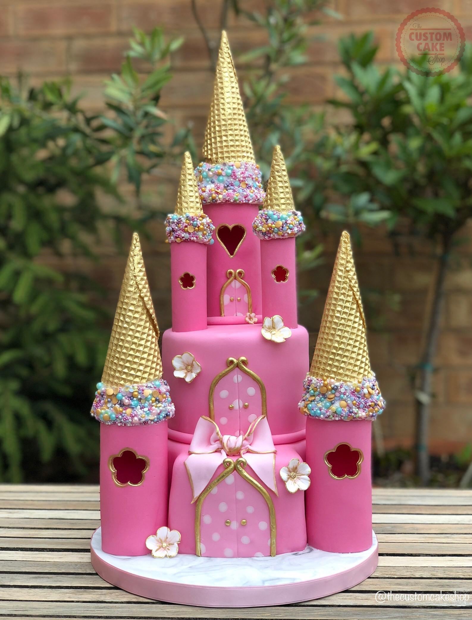 Princess Castle Birthday Cake Custom Cake Classes