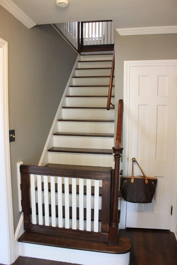 DIY Baby Stair Gate