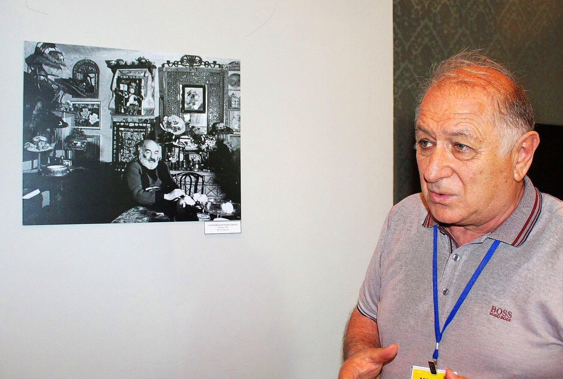 Завен Саргсян — основатель музея Параджанова. У него сегодня день ...