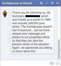 A  heartfelt thank you for a job well done.  Photo: Facebook Screen capture from Dan Sommers