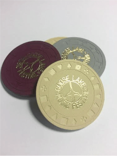 Poker Chip Style Tickets Issued To Concert Goers. Photo: Brett Booth
