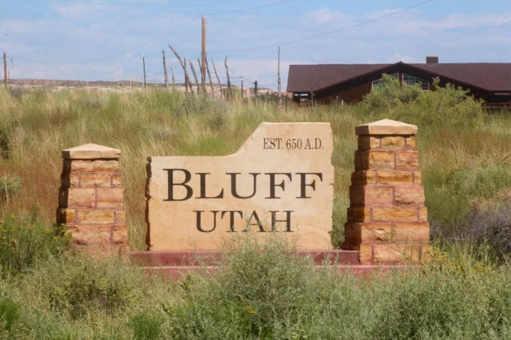 Bluff Utah Est 650 AD