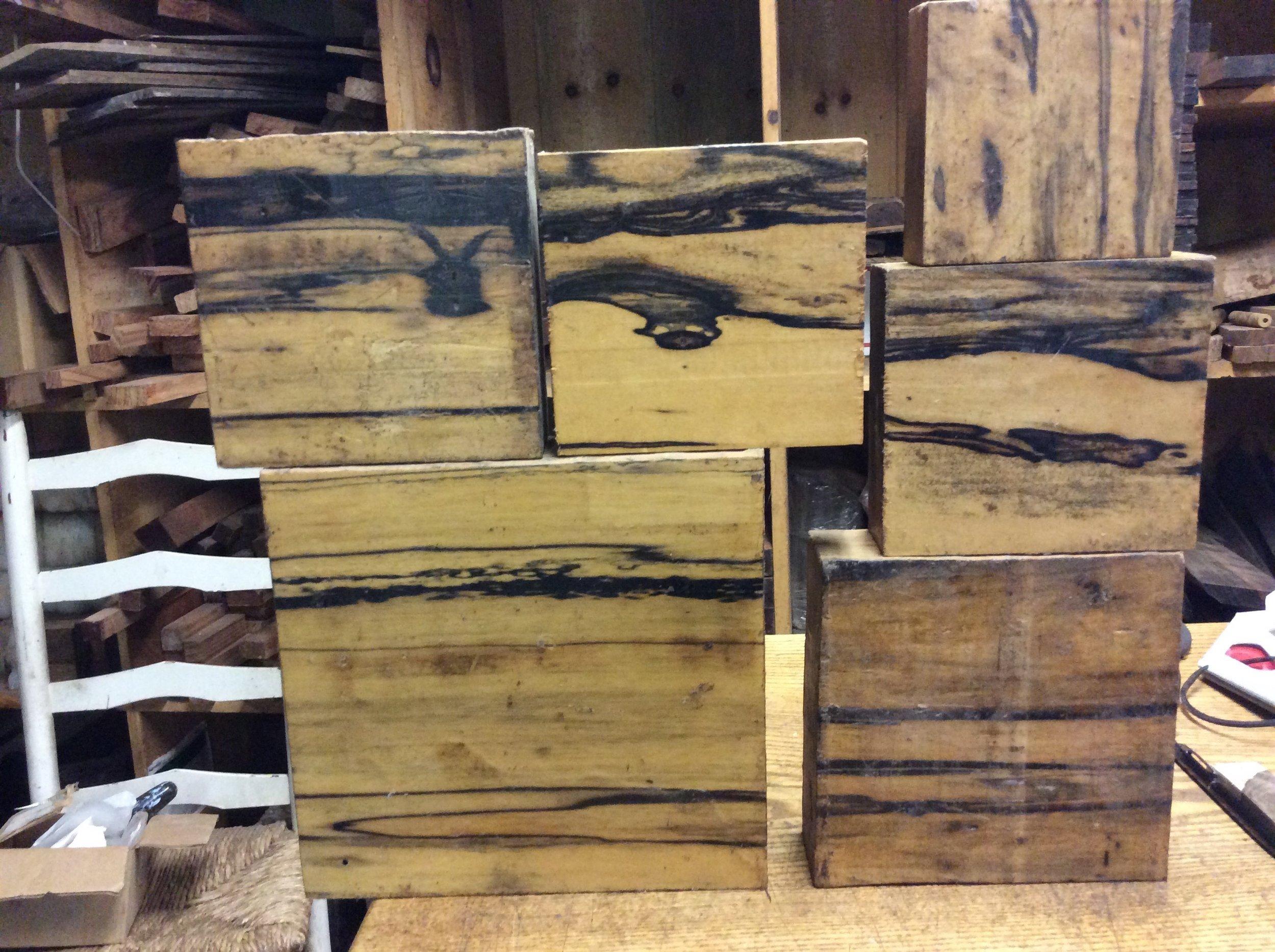 White Ebony Wood