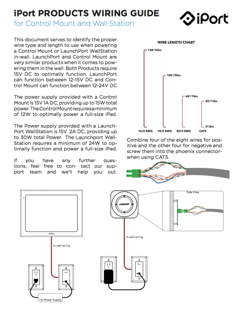 small resolution of iport wiring guide