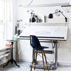 Modern Drafting Chair Wrought Iron Lounge Parts The Stylish Life Of An Architect's Office — Theory Place
