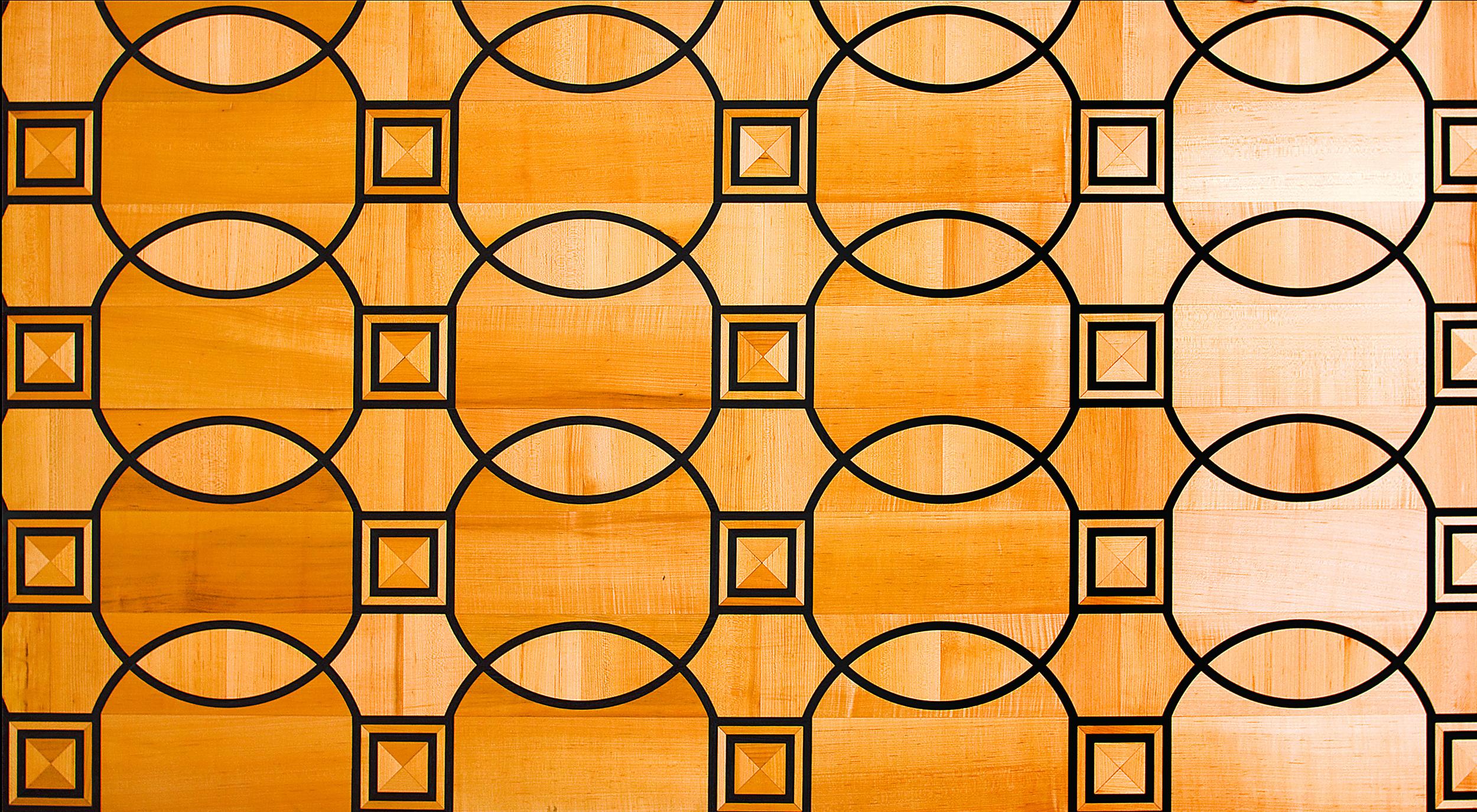 Parquet Line PQ 018 Cassie de Bijou Pattern Maple and Wenge