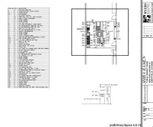 small resolution of  nbsp this is the preliminary layout assembled by our kitchen designer