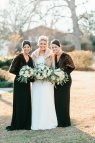 Rustic Winter Wedding Bridesmaid Dresses