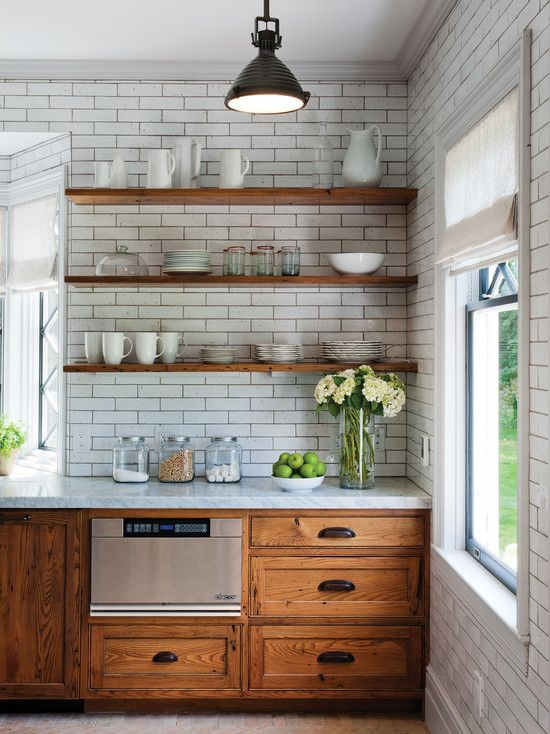Flip House Friday Kitchen Plans Paint, Oak Kitchen Cabinets With White Countertops