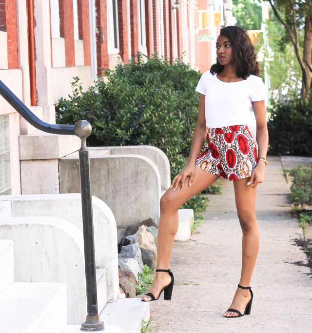 These YS shorts and shoes will stick with you through summer like bread and butter :D