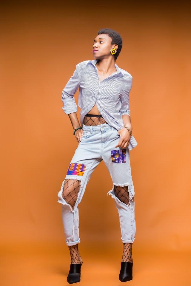 Denkara Jeans by Inidara Brand  Tote by Inidara Brand