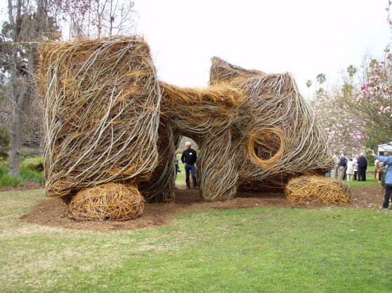 Image result for patrick dougherty morris arboretum