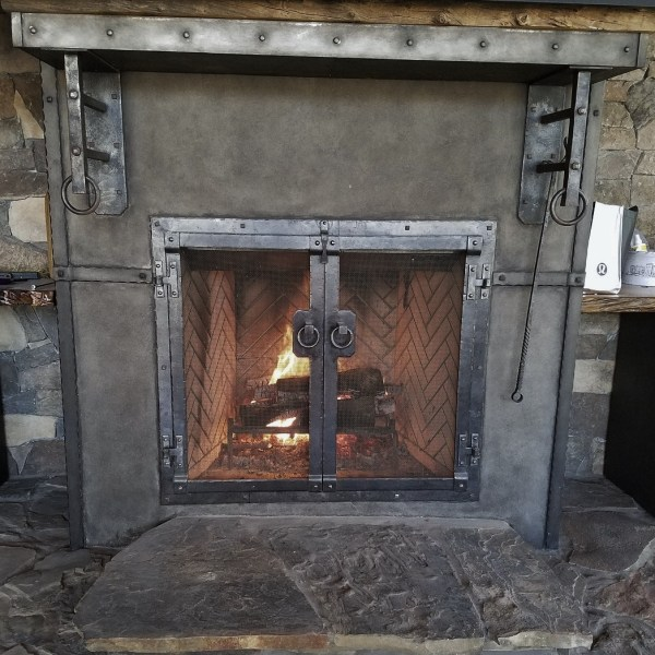 20 Copper Forged Fireplace Doors Pictures And Ideas On Meta Networks