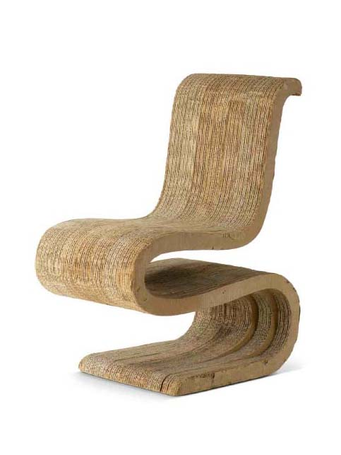 frank gehry cardboard chairs thomas the train chair 002 materiality kinder journal s wiggle side photo courtesy of vitra design museum