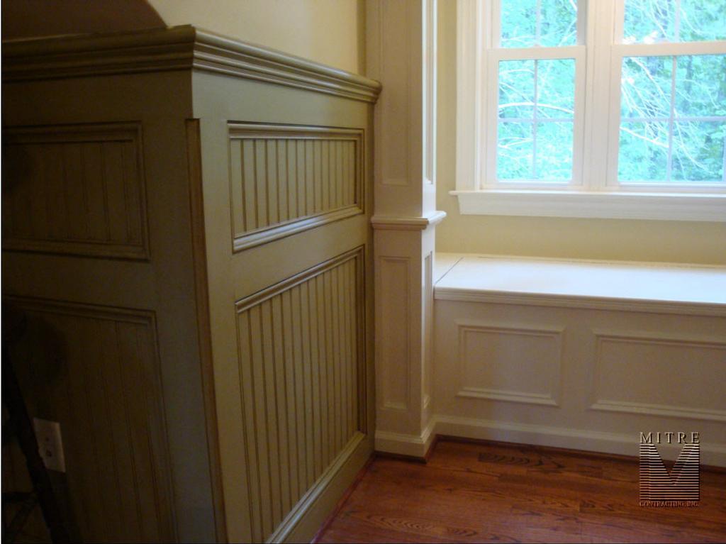 Day 10 Wainscoting  MJG Interiors Manchester Vermont based interior designer