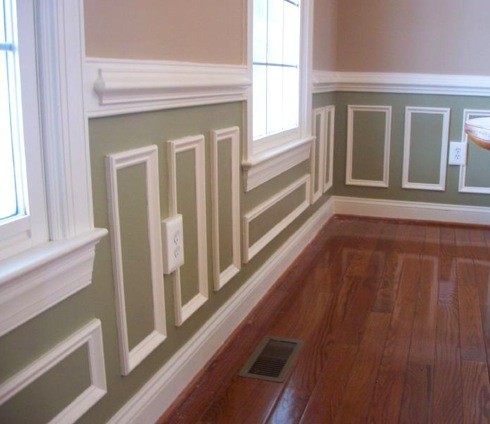 Day 10 Wainscoting  MJG Interiors Manchester Vermont based interior designer